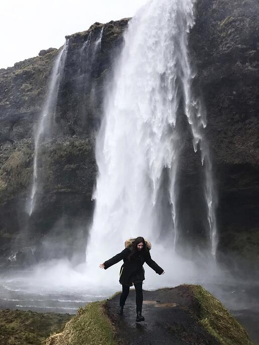 Waterfall Iceland Adventure