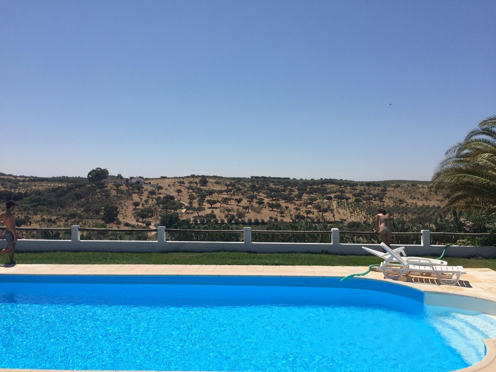 Nice pool in Alentejo