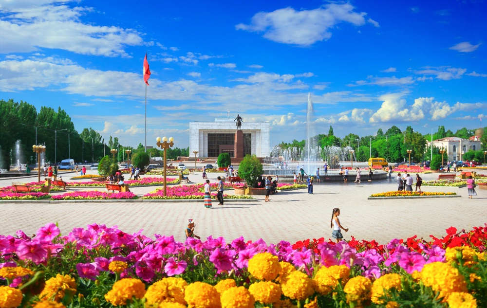 kishek during the day in kyrgyzstan