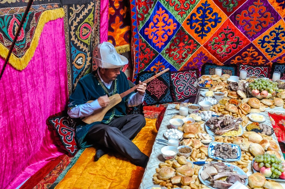 traditional food in kyrgyzstan